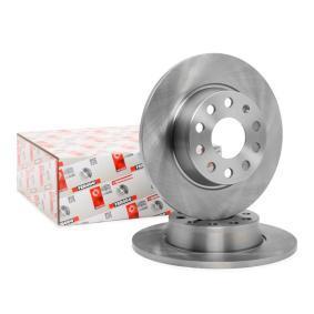 JZW698601AF für VW, AUDI, SKODA, SEAT, HONDA, Bremsscheibe FERODO (DDF1895) Online-Shop