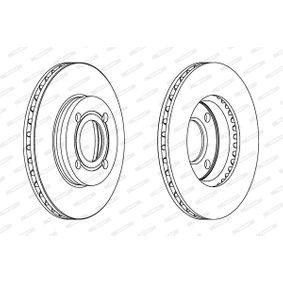 FERODO Bremsscheibe 431615301 für VW, AUDI, SKODA, SEAT, PORSCHE bestellen