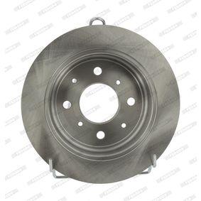 Спирачен диск FERODO Art.No - DDF468 OEM: GBD90817 за HONDA, SKODA, LAND ROVER, ROVER, MG купете