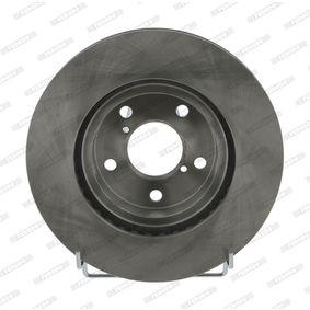 Bremsscheibe FERODO Art.No - DDF485 OEM: 26310AA021 für SUBARU, BEDFORD kaufen