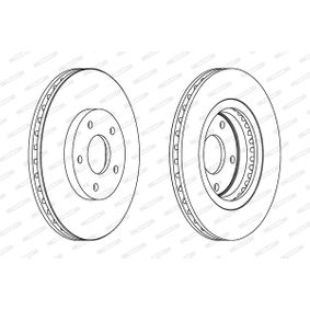 FERODO Bremsscheibe (DDF1589) niedriger Preis
