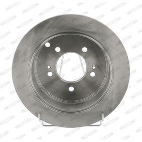 Bremsscheibe FERODO Art.No - DDF1493 OEM: 584113A300 für HYUNDAI, KIA kaufen