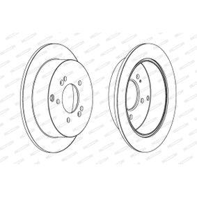 FERODO Bremsscheibe 584113A300 für HYUNDAI, KIA bestellen