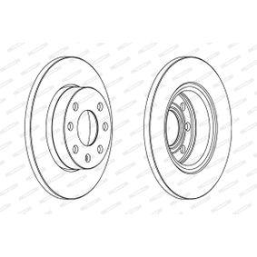 FERODO Disco de travão 93182290 para OPEL, CHEVROLET, VAUXHALL, PONTIAC compra