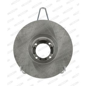 Bremsscheibe FERODO Art.No - DDF286 OEM: 21A2612 für MINI, ROVER, AUSTIN, INNOCENTI, MORRIS kaufen