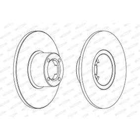 FERODO Bremsscheibe GBD806 für ROVER, INNOCENTI bestellen