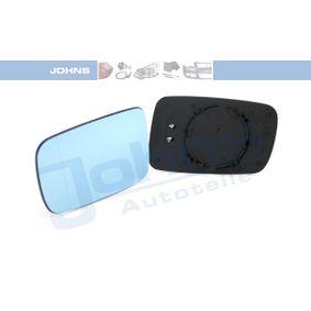 JOHNS 20 08 37-84 Spiegelglas, Außenspiegel OEM - 51168247131 BMW günstig