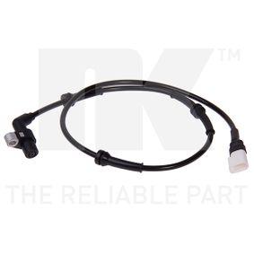 Sensor, Raddrehzahl NK Art.No - 292506 OEM: 96FB2B372BD für FORD, MAZDA, VOLVO, FORD USA kaufen
