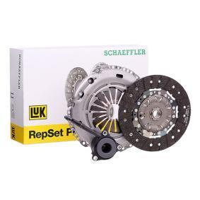 Kupplungssatz LuK Art.No - 624 3034 34 OEM: 0A5141671M für VW, AUDI, SKODA, SEAT kaufen