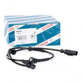 13381153 für OPEL, VAUXHALL, Sensor, Raddrehzahl BOSCH (0 265 008 089) Online-Shop