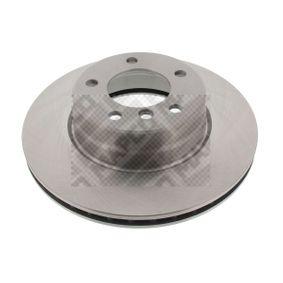 Bremsscheibe MAPCO Art.No - 25780 OEM: 34116764021 für BMW kaufen