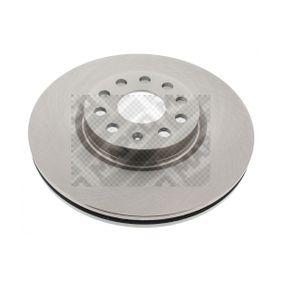 Bremsscheibe MAPCO Art.No - 25833 OEM: 5N0615301 für VW, AUDI, SKODA, SEAT, ALFA ROMEO kaufen