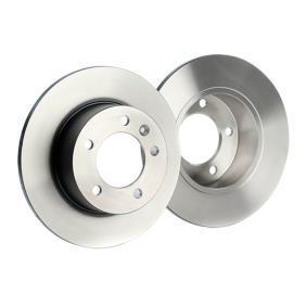 TRW Bremsscheibe Hinterachse, Ø: 305mm, Voll, lackiert 3322938088002 Bewertung