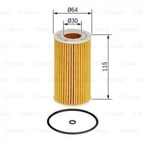 BOSCH Filtro de aceite (1 457 437 002)