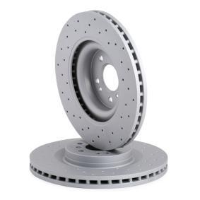 ZIMMERMANN Комплект спирачни дискове (400.3649.52)