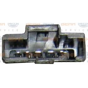 Ventilador habitáculo para vehículos con climatizador automático, para vehículos sin sistema de bus CAN del fabricante HELLA 8EW 009 159-581 hasta - 70% de descuento!