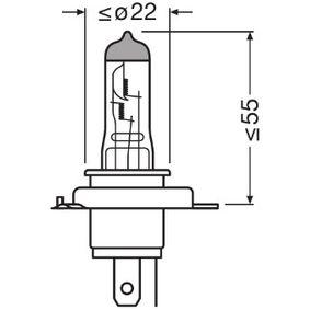 Glühlampe, Fernscheinwerfer 64196TSP Online Shop