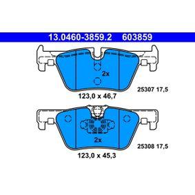 ATE Bremsbelagsatz, Scheibenbremse (13.0460-3859.2) niedriger Preis