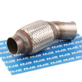 гъвкава тръба, изпускателна система HJS Art.No - 83 00 8320 OEM: 18307812279 за BMW купете