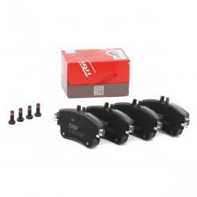 A0084200420 für MERCEDES-BENZ, Bremsbelagsatz, Scheibenbremse TRW (GDB1933) Online-Shop