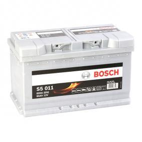 Starterbatterie BOSCH Art.No - 0 092 S50 110 OEM: 1201295 für OPEL, CHEVROLET kaufen