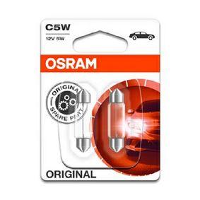 Number plate light bulb 6418-02B OSRAM