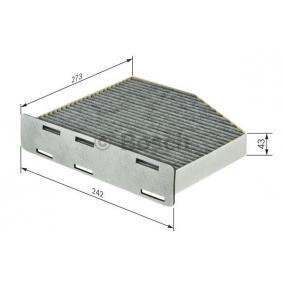 30630755 für VOLVO, Filter, Innenraumluft BOSCH (1 987 432 464) Online-Shop