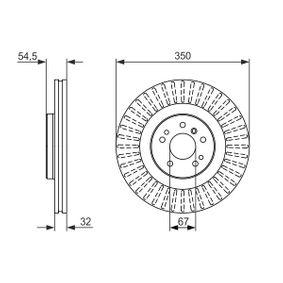 BOSCH Спирачен диск (0 986 479 329) на ниска цена