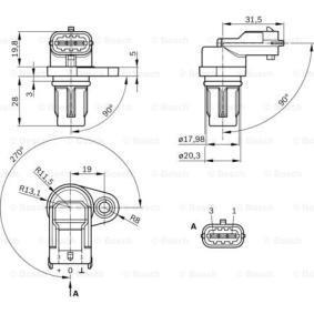Impianto elettrico motore BOSCH (0 232 103 097) per LANCIA YPSILON prezzi