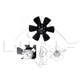 NRF Luftkühlung 47390 für AUDI 80 1.8 GTE quattro (85Q) 110 PS kaufen
