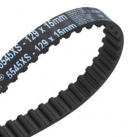 GATES FIAT PANDA Water pump + timing belt kit (KP15545XS)