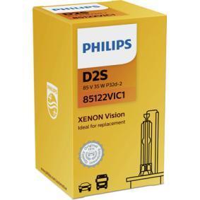 85122VIC1 Крушка с нагреваема жичка, фар за дълги светлини от PHILIPS качествени части