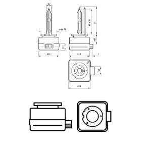 85415VIC1 Крушка с нагреваема жичка, фар за дълги светлини от PHILIPS качествени части