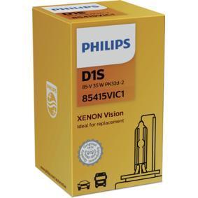 PHILIPS Крушка с нагреваема жичка, фар за дълги светлини 85415VIC1