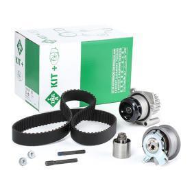 INA 530 0201 33 Wasserpumpe + Zahnriemensatz OEM - XM216268AA FORD, VW, VAG, FORD USA günstig