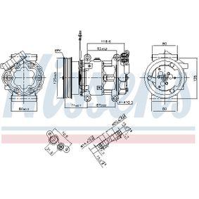 NISSENS Kompressor Klimaanlage (89064)