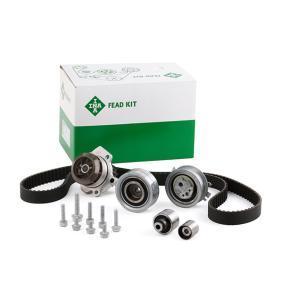 Wasserpumpe + Zahnriemensatz INA Art.No - 530 0550 32 OEM: 03L109244 für VW, AUDI, SKODA, SEAT kaufen