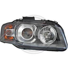 Hauptscheinwerfer DIEDERICHS Art.No - 1031186 OEM: N10566103 für VW, AUDI, SKODA, SEAT, PORSCHE kaufen