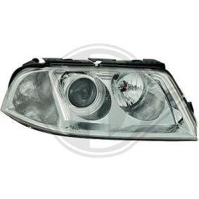 Hauptscheinwerfer DIEDERICHS Art.No - 2246081 OEM: 3B0941015AK für VW kaufen