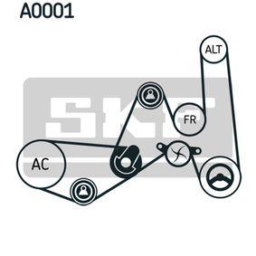 SKF Wasserpumpe + Keilrippenriemensatz 037121004A für VW bestellen