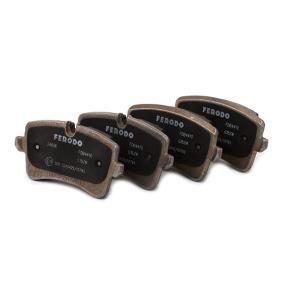 FERODO Kit de plaquettes de frein, frein à disque (FDB4410) à bas prix