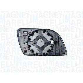 MAGNETI MARELLI Spiegelglas, Außenspiegel 6Q0857522C für VW, SKODA, SEAT bestellen