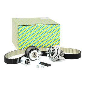 Wasserpumpe + Zahnriemensatz SNR Art.No - KDP457.490 OEM: 03L121011G für VW, AUDI, SKODA, SEAT, CUPRA kaufen