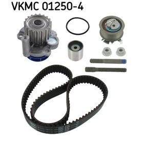 Wasserpumpe + Zahnriemensatz SKF Art.No - VKMC 01250-4 OEM: 045109243F für VW, AUDI, SKODA, SEAT, CUPRA kaufen