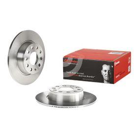 BREMBO Disc frana 5QD615601A pentru VW, AUDI, SKODA, SEAT cumpără