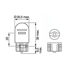 1 987 301 079 Bulb from BOSCH quality parts