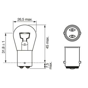 Bulb (1 987 302 532) from BOSCH buy