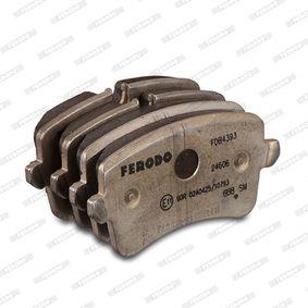 4H0698451A pour VOLKSWAGEN, AUDI, SEAT, SKODA, PORSCHE, Kit de plaquettes de frein, frein à disque FERODO (FDB4393) Boutique en ligne