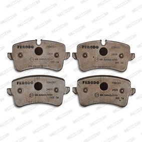 FERODO FDB4393 Kit de plaquettes de frein, frein à disque OEM - 4H0698451A AUDI, AUSTIN, PORSCHE, SEAT, SKODA, VW, VAG, TRW, A.B.S., OEMparts à bon prix