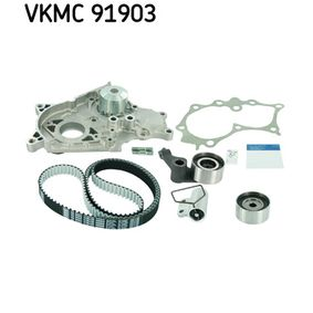 Water pump + timing belt kit VKMC 91903 SKF